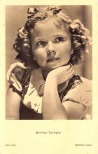 act220035 - Child Movie Star Shirley Temple Post Card Old Vintage Antique