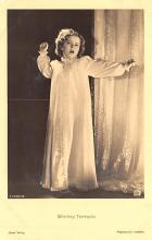act220039 - Child Movie Star Shirley Temple Post Card Old Vintage Antique