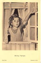 act220041 - Child Movie Star Shirley Temple Post Card Old Vintage Antique