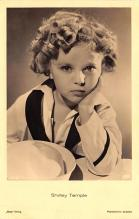 act220043 - Child Movie Star Shirley Temple Post Card Old Vintage Antique
