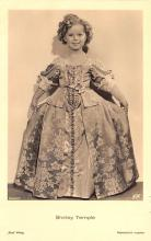 act220047 - Child Movie Star Shirley Temple Post Card Old Vintage Antique