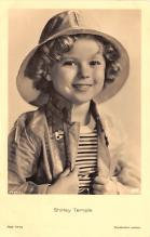 act220049 - Child Movie Star Shirley Temple Post Card Old Vintage Antique