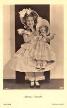 act220053 - Child Movie Star Shirley Temple Post Card Old Vintage Antique