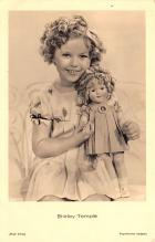act220055 - Child Movie Star Shirley Temple Post Card Old Vintage Antique