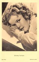 act220059 - Child Movie Star Shirley Temple Post Card Old Vintage Antique