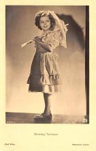 act220061 - Child Movie Star Shirley Temple Post Card Old Vintage Antique