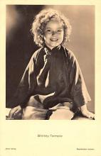 act220067 - Child Movie Star Shirley Temple Post Card Old Vintage Antique