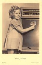 act220081 - Child Movie Star Shirley Temple Post Card Old Vintage Antique
