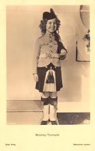 act220083 - Child Movie Star Shirley Temple Post Card Old Vintage Antique