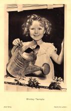 act220085 - Child Movie Star Shirley Temple Post Card Old Vintage Antique