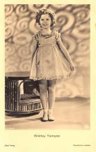 act220087 - Child Movie Star Shirley Temple Post Card Old Vintage Antique