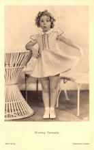act220089 - Child Movie Star Shirley Temple Post Card Old Vintage Antique