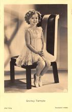 act220091 - Child Movie Star Shirley Temple Post Card Old Vintage Antique