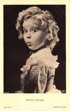 act220099 - Child Movie Star Shirley Temple Post Card Old Vintage Antique