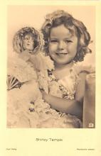 act220105 - Child Movie Star Shirley Temple Post Card Old Vintage Antique