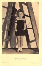 act220107 - Child Movie Star Shirley Temple Post Card Old Vintage Antique