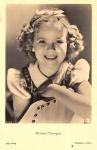 act220109 - Child Movie Star Shirley Temple Post Card Old Vintage Antique