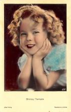 act220111 - Child Movie Star Shirley Temple Post Card Old Vintage Antique