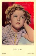 act220113 - Child Movie Star Shirley Temple Post Card Old Vintage Antique