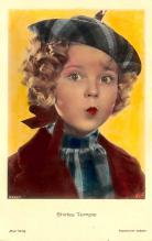 act220117 - Child Movie Star Shirley Temple Post Card Old Vintage Antique