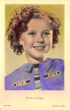 act220119 - Child Movie Star Shirley Temple Post Card Old Vintage Antique