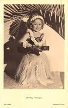 act220125 - Child Movie Star Shirley Temple Post Card Old Vintage Antique