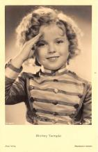 act220127 - Child Movie Star Shirley Temple Post Card Old Vintage Antique