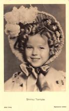 act220129 - Child Movie Star Shirley Temple Post Card Old Vintage Antique