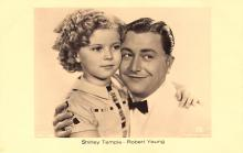 act220131 - Child Movie Star Shirley Temple Post Card Old Vintage Antique