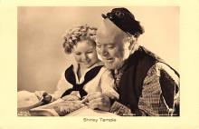 act220135 - Child Movie Star Shirley Temple Post Card Old Vintage Antique