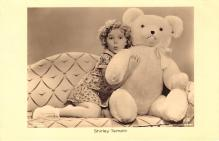 act220141 - Child Movie Star Shirley Temple Post Card Old Vintage Antique
