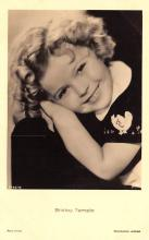 act220143 - Child Movie Star Shirley Temple Post Card Old Vintage Antique