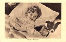 act220145 - Child Movie Star Shirley Temple Post Card Old Vintage Antique