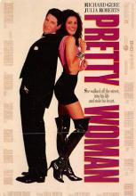 act500013 - Pretty Woman Movie Poster Postcard