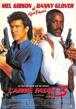 act500023 - Lethal Weapon 3 Movie Poster Postcard