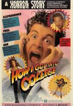act500033 - How I got into College  Movie Poster Postcard