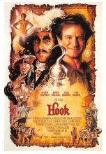 act500035 - Hook - Robin Williams, Dustin Hoffman Movie Poster Postcard