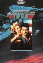 act500049 - Top Gun Movie Poster Postcard