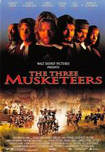 act500073 - The Three Musketeers Movie Poster Postcard