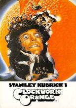 act500075 - Stanley Kubrick's Clockwork Orange Movie Poster Postcard