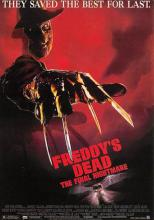 act500079 - Freddy's Dead, The Final Nightmare Movie Poster Postcard