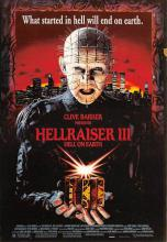 act500081 - Hellraiser III Movie Poster Postcard