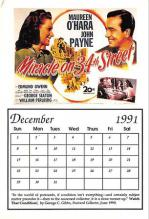 act500097 - Miracle on 34th Street Movie Poster Postcard
