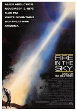 act500115 - Fire in the Sky Movie Poster Postcard
