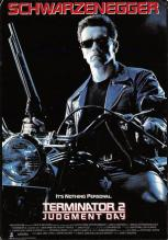act500121 - Terminator 2 Judgment Day Movie Poster Postcard