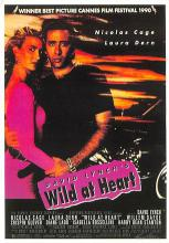 act500125 - Wild at Heart, Nicolas Cage Movie Poster Postcard
