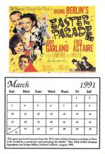 act500141 - Easter Parade, Irving Berlin Movie Poster Postcard