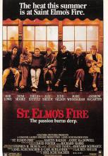 act500159 - St. Elmo's Fire Movie Poster Postcard