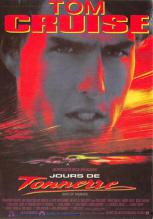 act500195 - Tom Cruise, Days of Thunder Movie Poster Postcard