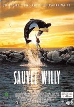 act500197 - Sauvez Willy Movie Poster Postcard